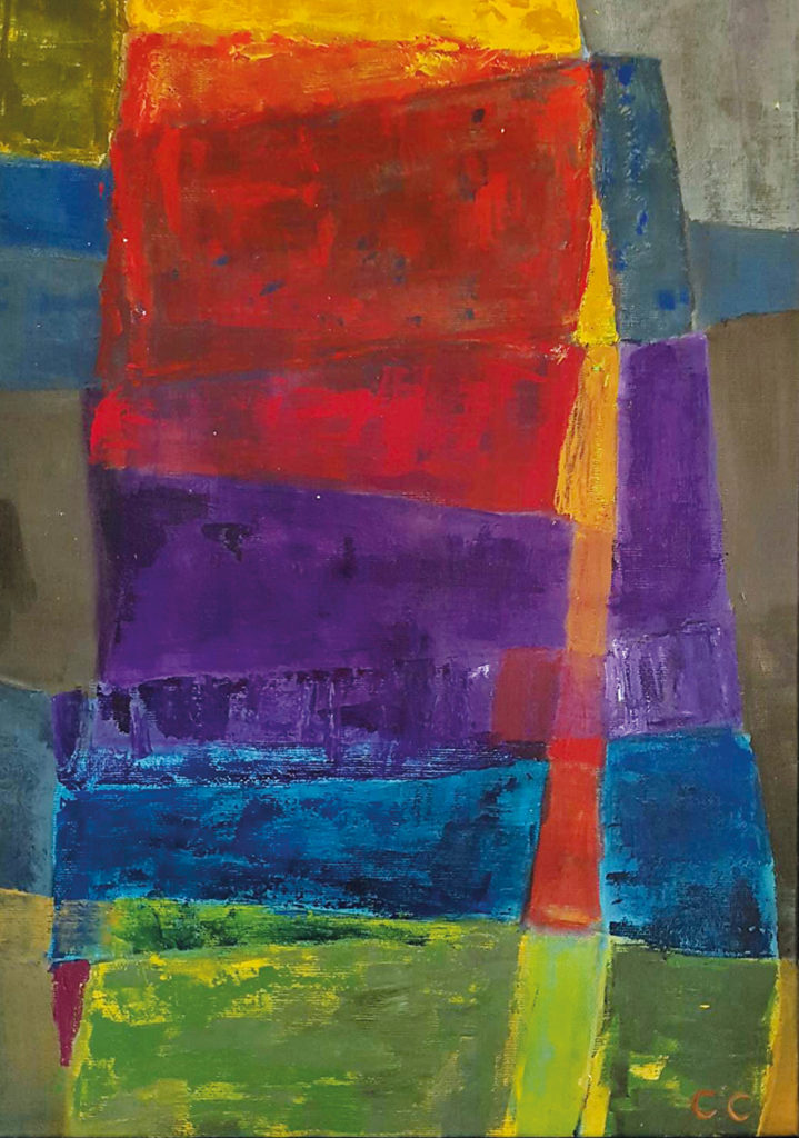 Maleri Cristine Colban